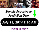 We Zombie - Zombie Apocalypse Prediction Date